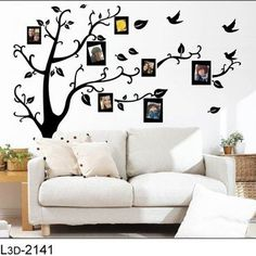 Free Shipping:1 Set=5.99USD Only Photo Tree  Hot selling 3D Sticker DIY Decoration Fashion Wall Sticker on AliExpress.com. $5.99