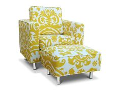 Ava Toddler Chair & Ottoman|Fab Style Kids Rooms http://fabstylekidsrooms.com/Baby-Nurseries/Nursery-Chairs/Ava-Toddler-Chair-n-Ottoman #baby
