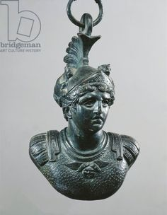 Weight shaped as head of Mercury wearing petasus, from Pompei
