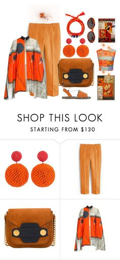 """""""Summer Brights"""" by peeweevaaz ❤ liked on Polyvore featuring J.Crew, outfit, brunch, polyvoreeditorial and polyvorefashion"""