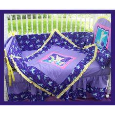 New Tinkerbell Fairy Crib Bedding Set M W Purple Tink