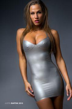 Sexy Latex Dress On Chelsea Dylann ❤ Sexy Latex, Tight Dresses, Sexy Dresses, Short Dresses, Tight Skirts, Mode Latex, Hot Girls, Latex Lady, Latex Dress