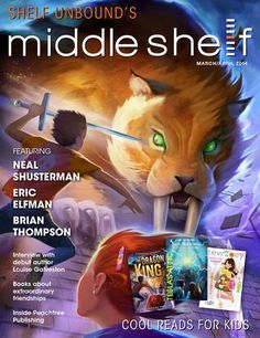Great articles on a LARGE variety of books and ideas for middle schoolers.Middle Shelf: Cool Reads for Kids -- March/April 2014