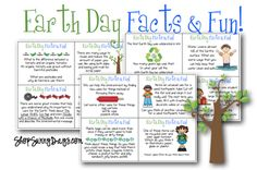 Earth Day Facts and Fun!