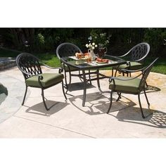 Allen Roth Newstead Gray Textured Round Patio Dining Table At Lowes