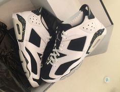 "6317fca06c0f51 A FIRST LOOK AT THE AIR JORDAN 6 LOW ""OREO"". Popular SneakersSneakers For  SaleSneakers ..."