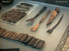 Oseberg weaving tools
