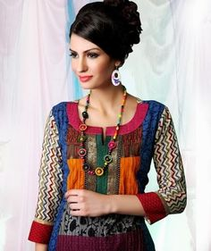 Kurti In Town – Readymade « Indian Designer Sarees Suits Dresses