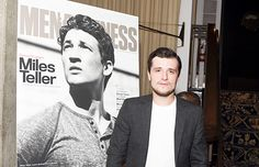 Josh Hutcherson attends MEN'S FITNESS Celebration of The 2015 Game Changers on September 24, 2015 in West Hollywood, California.