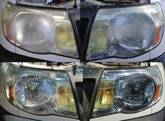 Tacoma Headlight Restoration 512-910-7227