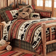 Woodland Trails Bear Bedding Collection