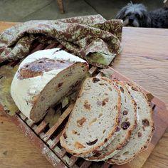 Pão com phisalis e outras frutas secas