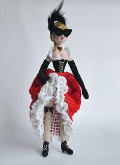 Muñeca de trapo muñeca de Crochet muñeca de trapo muñeca