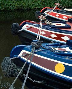 Narrow boats. Richard Donkin