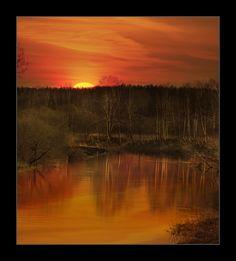 meeting morning dawn | sun, dawn, lake, reflection, forest