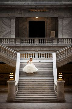There's Something Magical About A Staircase… « Wedding Ideas, Top Wedding Blog's, Wedding Trends 2014 – David Tutera's It's a Bride's Life
