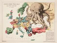 You've seen city maps, but what about city maps that show where each gang has its headquarters? Or a map of the globe without water? Here are a few of our favorite randomly bizarre maps. Steampunk Shop, Steampunk Accessoires, Old Maps, Antique Maps, History Of Illustration, Ww2 Propaganda Posters, Map Pictures, Italy Map, Map Globe