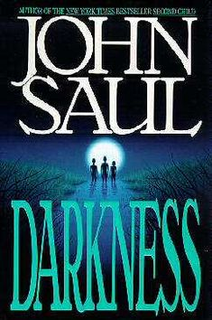 Darkness by John Saul.  Creepy....but great storyline....one I definitely need to read again.....how times will that make it??