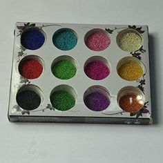 G-Beauty : 12 Color Nail Art Pearl Caviar Art Beads Mini Ball Nail Glitter Decoration ** To view further for this item, visit the image link.