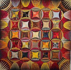 Indian Orange Peel (paper pieced - Karen K Stone)