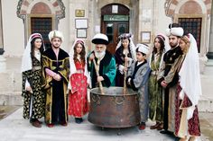The Mesir Macunu festival of Manisa, Turkey, commemorates the recovery of Hafsa Sultan, mother of Suleiman the Magnificent, who was cured of a disease by the invention of a paste known as mesir macunu. The Sultan then ordered that the paste be disseminated to the public.