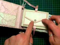 Pinning for the tab idea on this one Springtime theme toilet paper mini album - YouTube