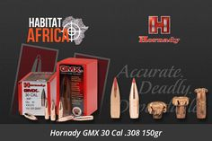 The Hornady GMX 30 Cal .308 150gr bullet features a streamlined design for ultra-flat trajectories with a devastating terminal performance across a wide range of velocities, copper alloy construction and double cannelures reduce fouling. Hornady GMX Features Copper Alloy Construction Monolithic, copper alloy bullets deliver controlled expansion and 95+% weight [...]