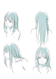 「魅力的な髪の毛の描き方。」 [8]