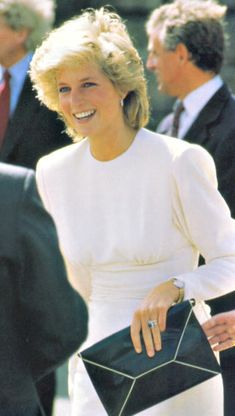 Diana Despite her trials with the monarchy and the press her inner joy was genuinely her own.