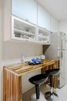 Adorable Mini Bar Design Ideas On Your Apartment Balcony Condo Design, Interior Design Boards, Little Kitchen, Kitchen Collection, Small Dining, Minimalist Decor, Home Kitchens, Modern Kitchens, Kitchen Remodel