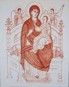 Religious Pictures, Religious Icons, Religious Art, Byzantine Icons, Byzantine Art, Paint Icon, Art Thou, Orthodox Icons, Sacred Art
