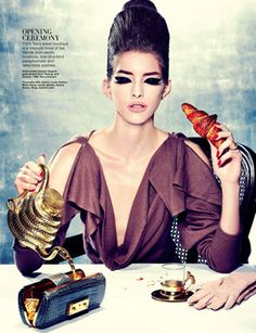 Fit To A Tea by Gan for Harper's Bazaar Singapore