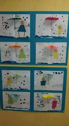 Most up-to-date Free of Charge preschool crafts weather Thoughts This web site features SO MANY Kids crafts which can be suitable for Toddler and also Tots. I believed it was time fra Water Theme Preschool, Preschool Weather, Preschool Crafts, Crafts For Kids, Children Crafts, Crafts Toddlers, Free Preschool, Kids Diy, Spring Activities
