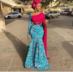 African Fashion Ankara, Latest African Fashion Dresses, African Inspired Fashion, African Print Fashion, Africa Fashion, African Style, Long African Dresses, Ankara Long Gown Styles, African Print Dresses