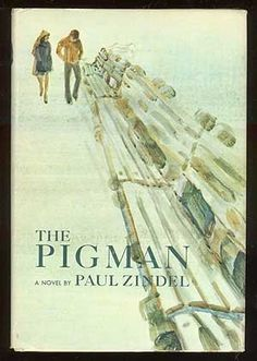 The Pigman by Paul Zindel A teenage boy and girl, high school sophomores from unhappy homes, tell of their bizarre relationship with an old man.   Lexile: 950