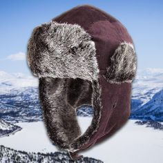 25543979 Shop this corduroy faux fur trapper hat to stay warm this winter season in  the coldest