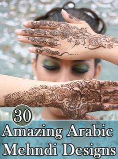 Arabic Mehndi Designs: Here are some of the designs we found to be quite beautiful.