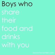 hahaha I eat jacobs food all the time. his always tastes better than mine even if we order the same thing!