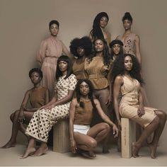 Sistahood Black Power, Black Girls Rock, Black Girl Magic, Dreads, Black Girl Groups, Post Workout Hair, Coloured Girls, Black Models, Shades Of Black