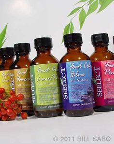 Organic/All natural food coloring