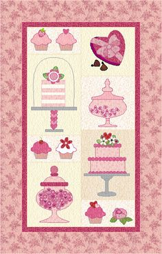 Sweet Valentine pattern on Craftsy.com