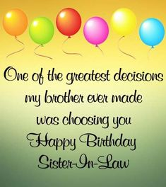 Short birthday wishes for sister in law with images and pictures free download. Send these pictures on social networks to wish her very happy birthday #happybirthday #wishes #sisterinlaw #family Short Birthday Wishes, Beautiful Birthday Wishes, Birthday Wishes For Sister, Very Happy Birthday, Sister In Law, Social Networks, Are You Happy, Sisters, Pictures