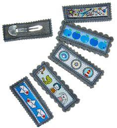 Haarschmuck für Babys und kleine Mädchen, welcher gut hält und leicht selber mit Webband/Webbändern gemacht wird.