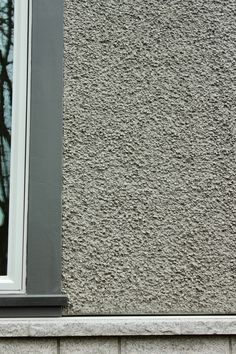 Parging With Acrylic Stucco Finish Smooth Look Flexible