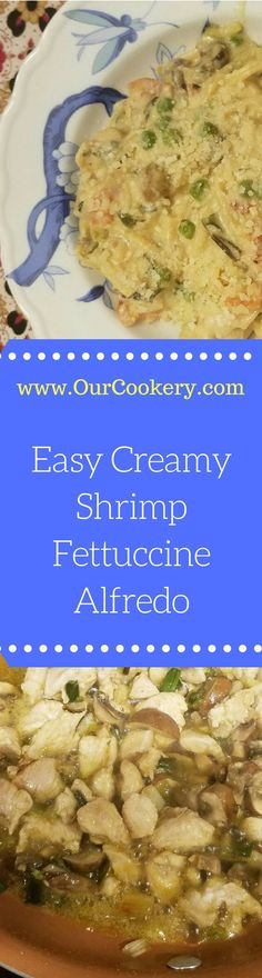 Easy Creamy Shrimp F
