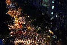 São Paulo e Rio de Janeiro têm noite marcada por protestos