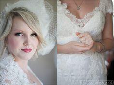 Make + cabelo + acessórios perfeitos = noiva linda e radiante