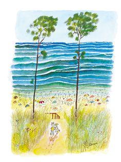JEAN-JACQUES SEMPÉ http://www.widewalls.ch/artist/jean-jacques-sempe/  #contemporary  #art  #illustration