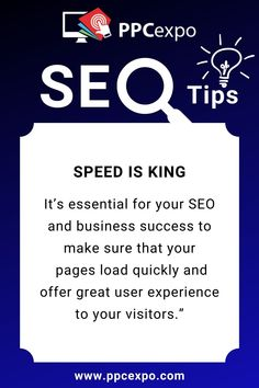 """Speed is king: """"It was 2 years ago that Google publicly announced page speed as a ranking factor. seo 