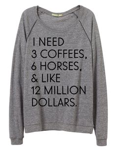 """I Need"" Pullover - 20x60  - 3"